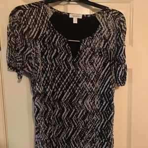 A blouse from Dressbarn.